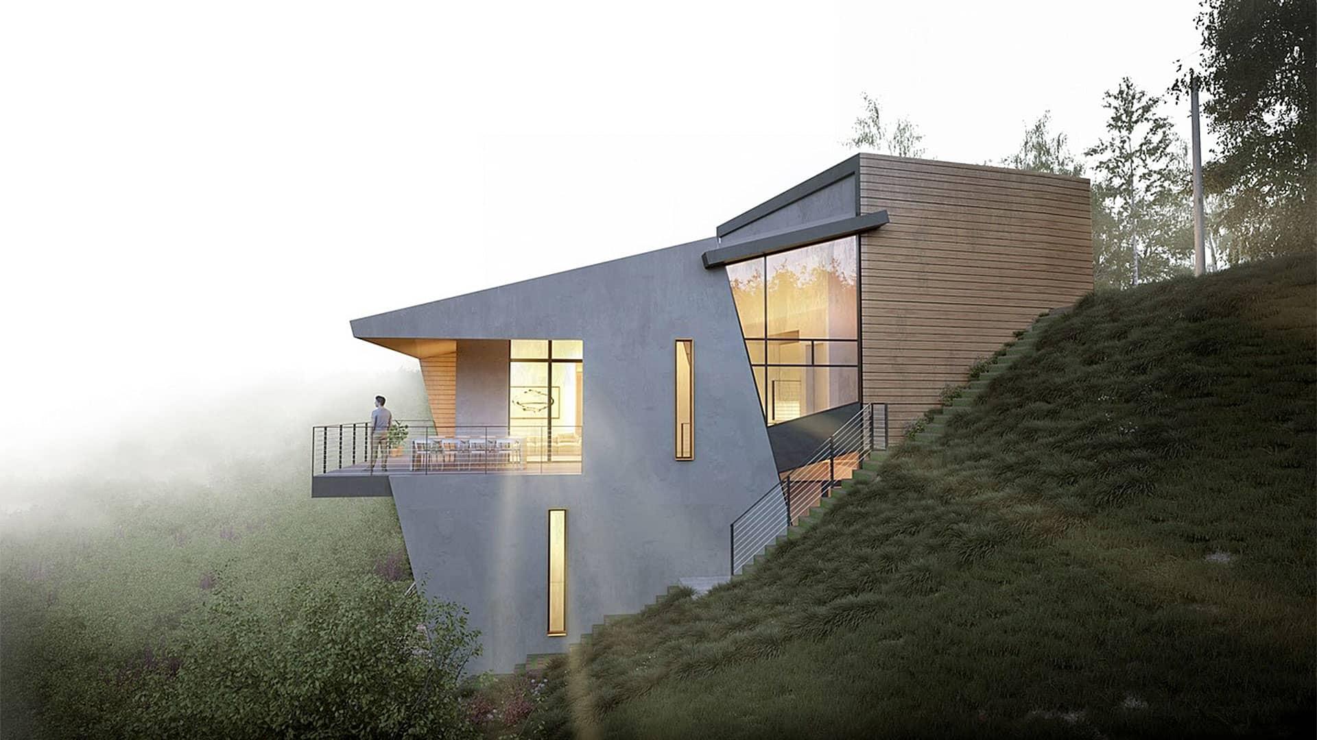 Maison passive réalisée par un constructeur de maison dans le nord