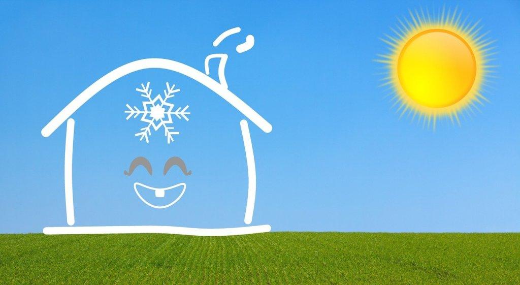 maison passsive chauffee par le soleil