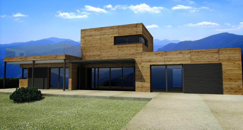 constructeur de maison à ossature bois à Villeneuve d'Ascq